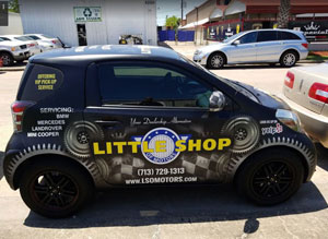 Little Shop of Motors